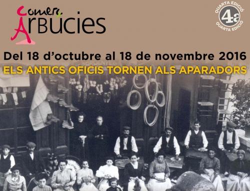 ARBÚCIES – Els antics oficis tornen als aparadors