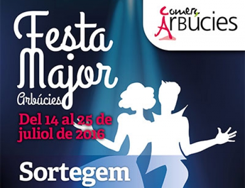 ARBÚCIES – Festa Major (2016)