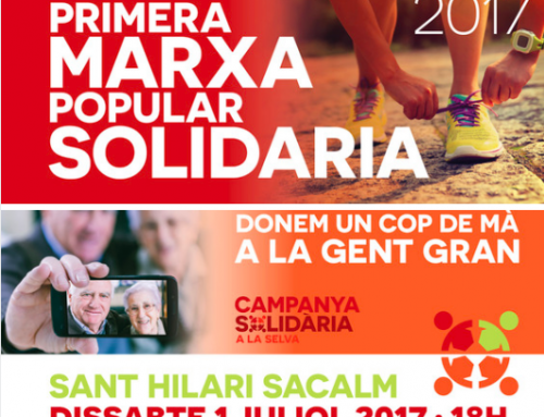 I MARXA POPULAR SOLIDARIA- SANT HILARI SACALM