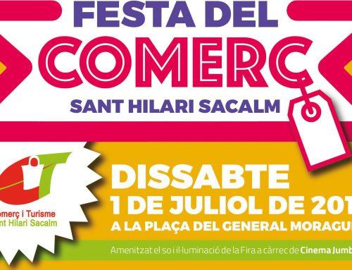 FESTA DEL COMERÇ A SANT HILARI SACALM